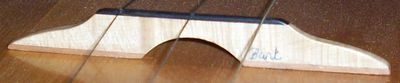 Professional quality  balalaika bridges that maximize your instrument's tonal properties and characteristics